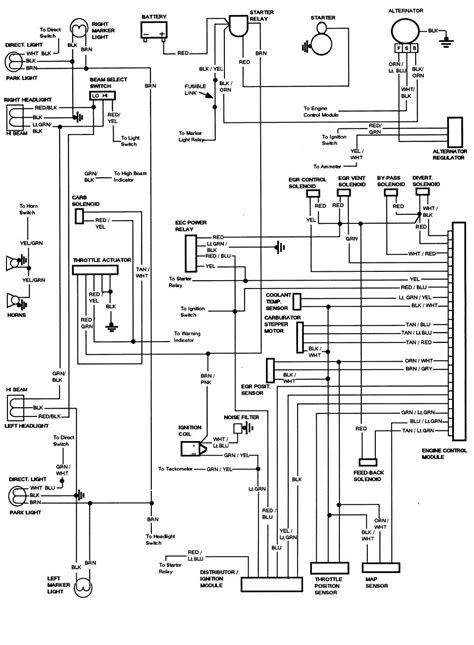 Ford Bronco Wiring Harnes Diagram by I A 1994 Ford Bronco That I Put On A 1984