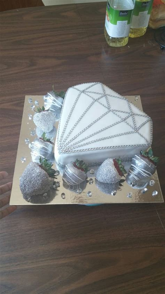 ideas  diamond cake  pinterest pastel