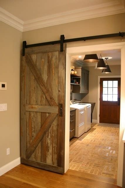 reclaimed barn door design ideas  projects  nyc