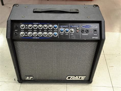 Crate Two-tone Gfx50 Guitar Amplifier Amp