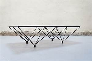 Table Basse En Verre Design Italien : table basse design type paolo piva vintage retro annees 70 80 designer mobilier emiellabroc ~ Melissatoandfro.com Idées de Décoration