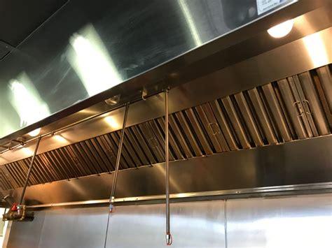 restaurant hood cleaning commercial kitchen exhaust hood