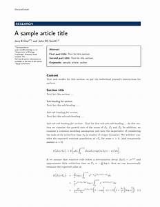 excellent ieee template latex photos resume ideas With ieee journal template word