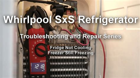 whirlpool side  side refrigerator  cooling