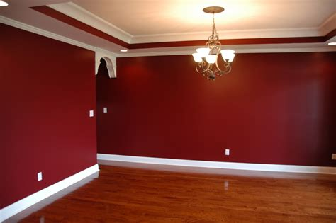 Wand Rot Streichen by How To Stencil A Wall Dining Room Project Drama And Room