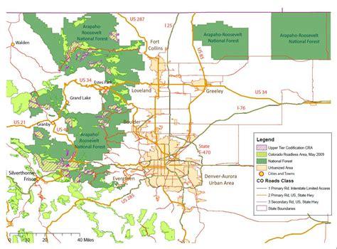 Roosevelt National Forest Map