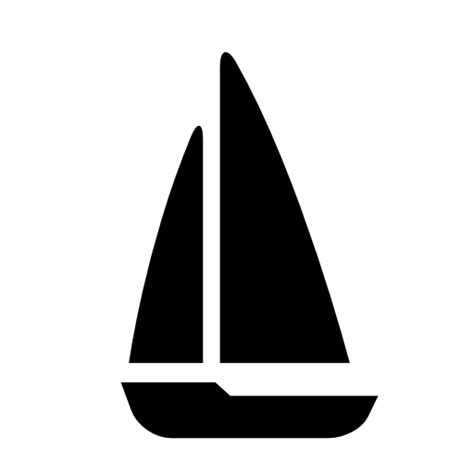 Sailboat Icon Transparent by Sailing Free Icons Download