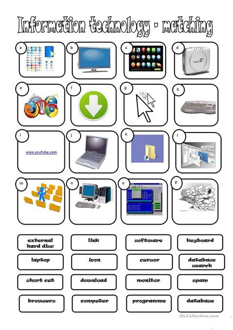 172 free esl computers technology worksheets