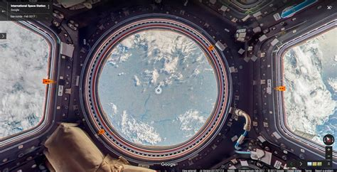 Explore The International Space Station With Google Street