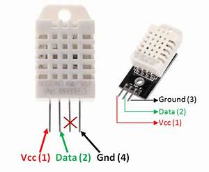Dht22 Sensor Pinout  Specs  Equivalents  Circuit  U0026 Datasheet