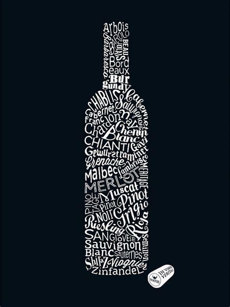 wine types art print  run   hills