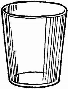 An Empty Glass   ClipArt ETC