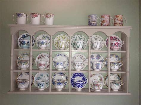 royalalbertpatternscom great idea  displaying teacups  saucers  im