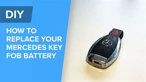 Mercedes Key Fob Battery Replacement Easy Diy