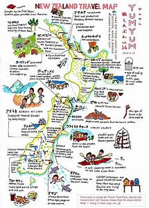 Nz Travel Map For Motorcycle Room