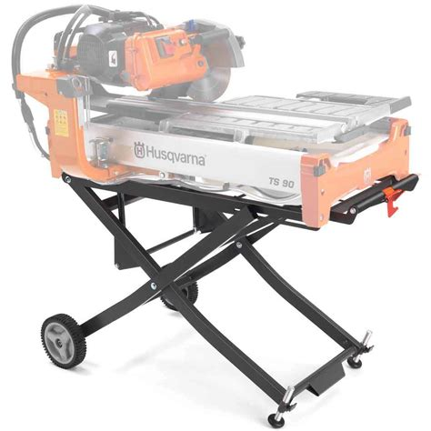 husqvarna tile saw stand husqvarna ts 70 90 rolling stand 585581602 contractors