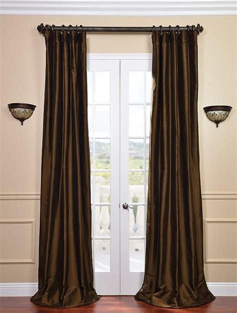 chocolate brown curtains chocolate brown velvet curtain