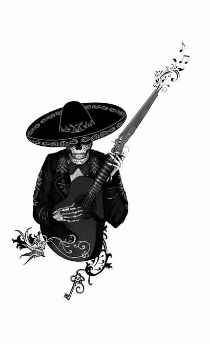 Dead Skull Tattoo Sugar Chicano Mexican Mexicanas