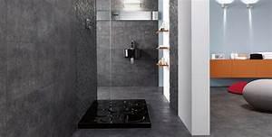 salle de bain l39ardoise un revetement ideal espace With ardoise pour salle de bain
