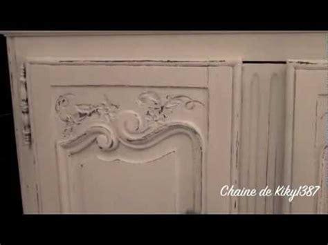 Patine Sur Meuble Ancien  Tutoriel  Rénover Une Maison