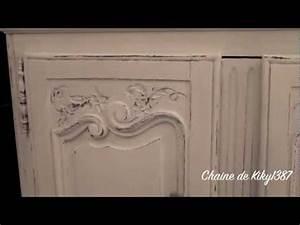 patine sur meuble ancien tutoriel youtube With peindre un meuble en chene massif