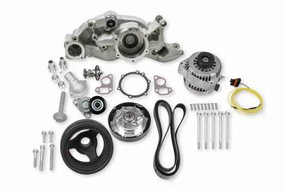 Holley Mid Mount Accessory System Race Alternator
