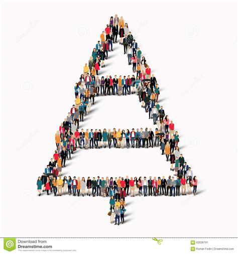 how to shape a christmas tree shape tree stock vector image 63038791
