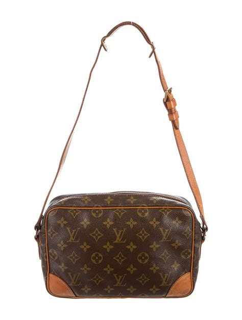 louis vuitton vintage monogram trocadero  handbags