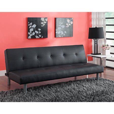 walmart faux leather futon dhp nola tufted faux leather futon colors
