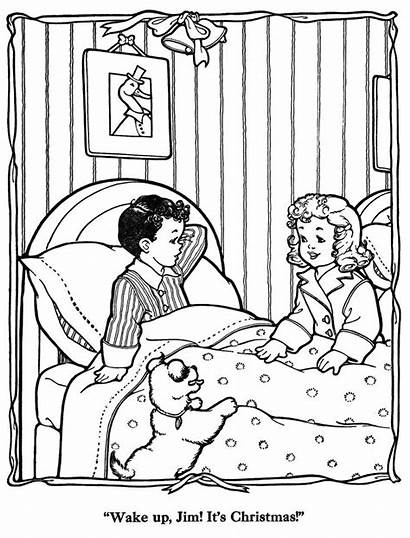 Christmas Countdown Coloring Pages Merry Qisforquilter