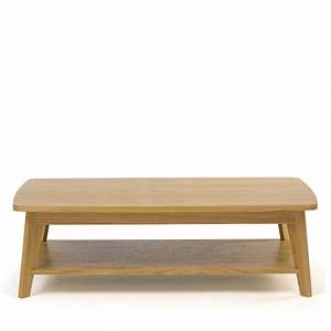 Table Basse Bois : table basse 2 plateaux kensal par ~ Teatrodelosmanantiales.com Idées de Décoration