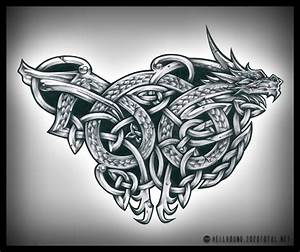 Celtic Dragon Tattoos