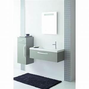 Mobilier Salle De Bain : mobilier compact pour salle de bain sanijura ~ Teatrodelosmanantiales.com Idées de Décoration
