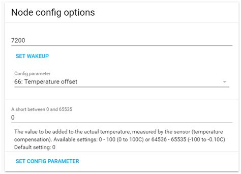 Configuring Parameters On A Fibaro Fgms-001 (or Other