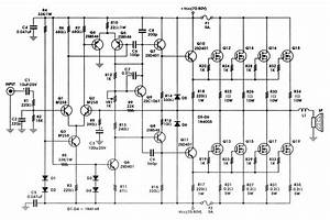5000 Wat Subwoofer Amplifier Circuit Diagram Download