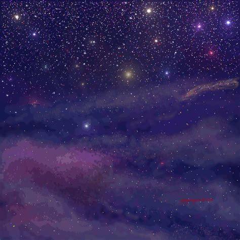 Pixel Art Landscape Wallpaper Stars Background Wip By Dragonforge On Deviantart