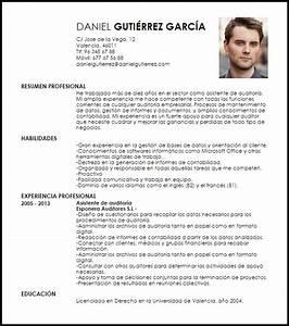 Modelo Curriculum Vitae Auxiliar De Auditor U00eda