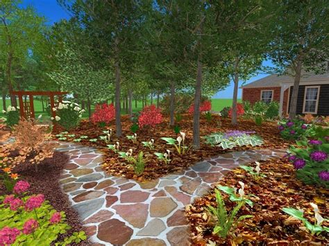 natural landscaping ideas  front yard roomy