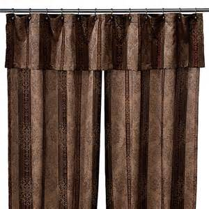 Discontinued Croscill Bedding by Townhouse Double Swag Shower Curtain Set By Croscill Bed