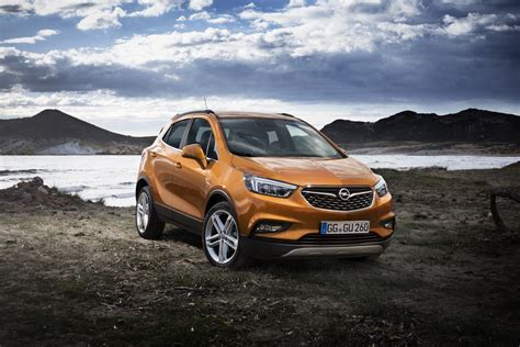 Opel Gm by Opel Mokka X Revealed Gm Authority