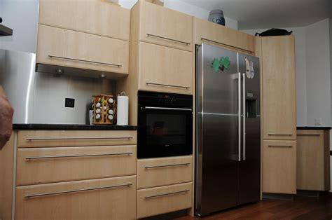 cuisine avec frigo americain integre cuisine avec frigo américain pas cher sur cuisine lareduc com