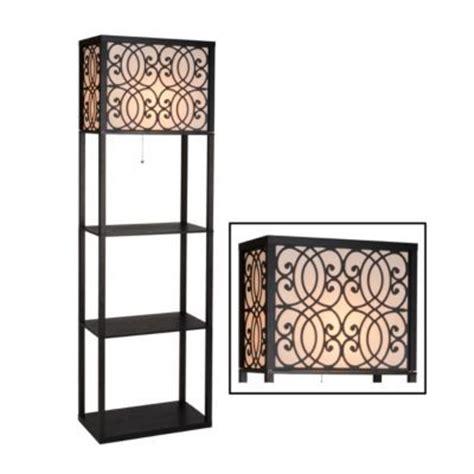Kirklands Floor L With Shelves by Grady Wide Shelf Floor L