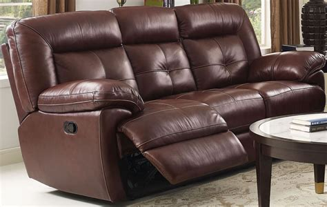 dual reclining sofa stede brown dual reclining sofa from new classic