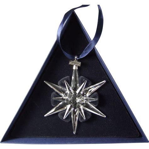 2005 swarovski crystal snowflake annual edition christmas