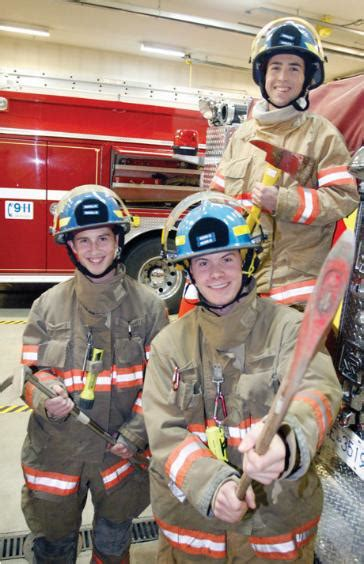 jr fire fighter program metchosin fire department