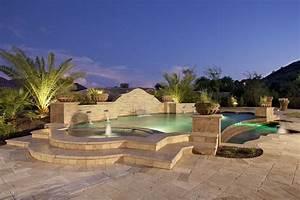 Deco jardin avec piscine exemples d39amenagements for Deco jardin avec piscine