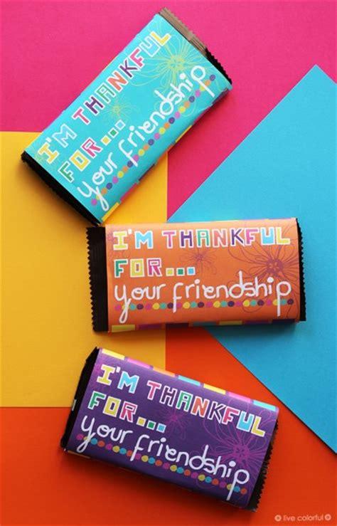 im thankful   friendship candy bar printable