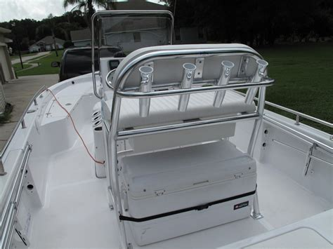 Boat Leaning Post by My New Leaning Post For My Tidewater 21 Bay Boat The