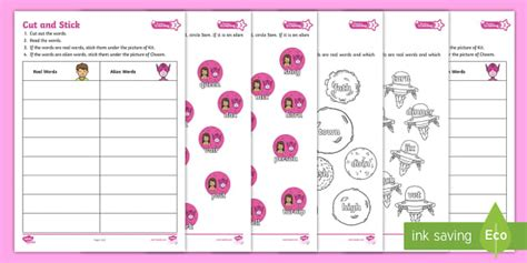 * New * Level 3 Twinkl Phonics Screening Check Independent Activity Pack