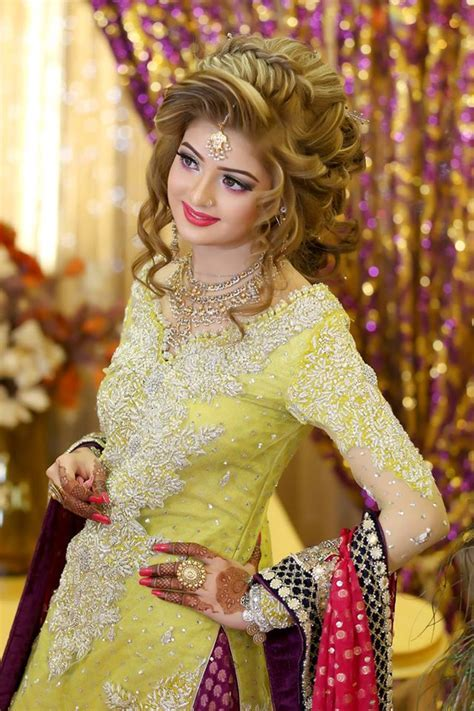 Trendy Pakistani Bridal Hairstyles 2017   New Wedding